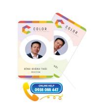 Thẻ nhân viên Color