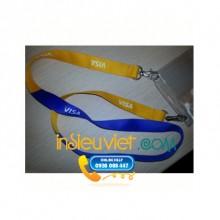 dây đeo hội nghị visa 2 đầu móc