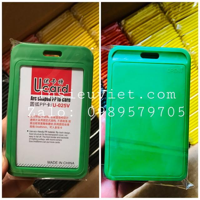 Bao U-025V xanh lá cây